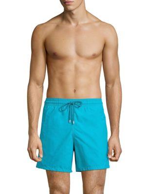 Vilebrequin Moorea Drawstring Shorts In Azure