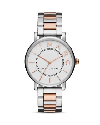 Marc Jacobs Classic Bracelet Watch, 36Mm In White/Rose