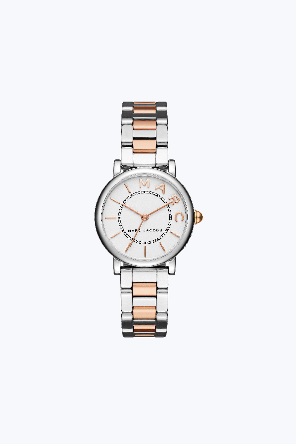 Marc Jacobs Classic Watch, 28Mm In Stainless/Rose Gold