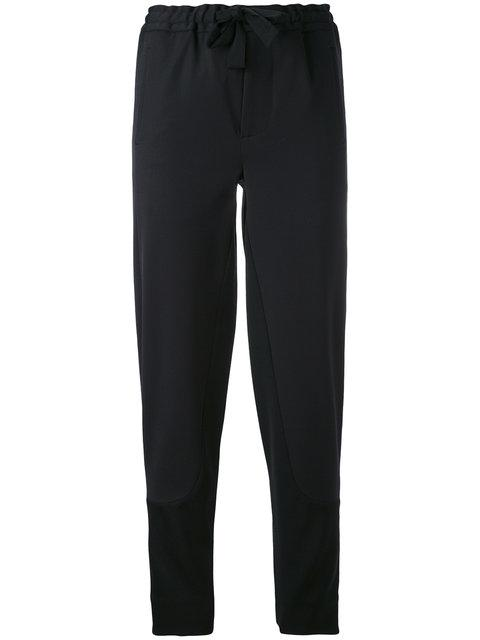 Marni Relaxed Drawstring Jogger Pants In Black
