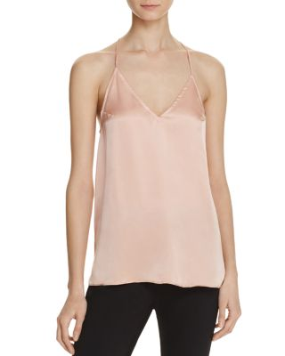 Cami Nyc Jenna Silk Cami In Rose