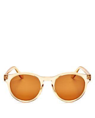 9b7a956efe7c0 Le Specs Women S Hey Macarena Polarized Round Sunglasses