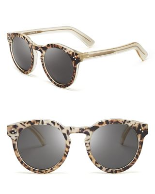 Illesteva Leonard Ii Sunglasses, 50Mm In Safari/Gray