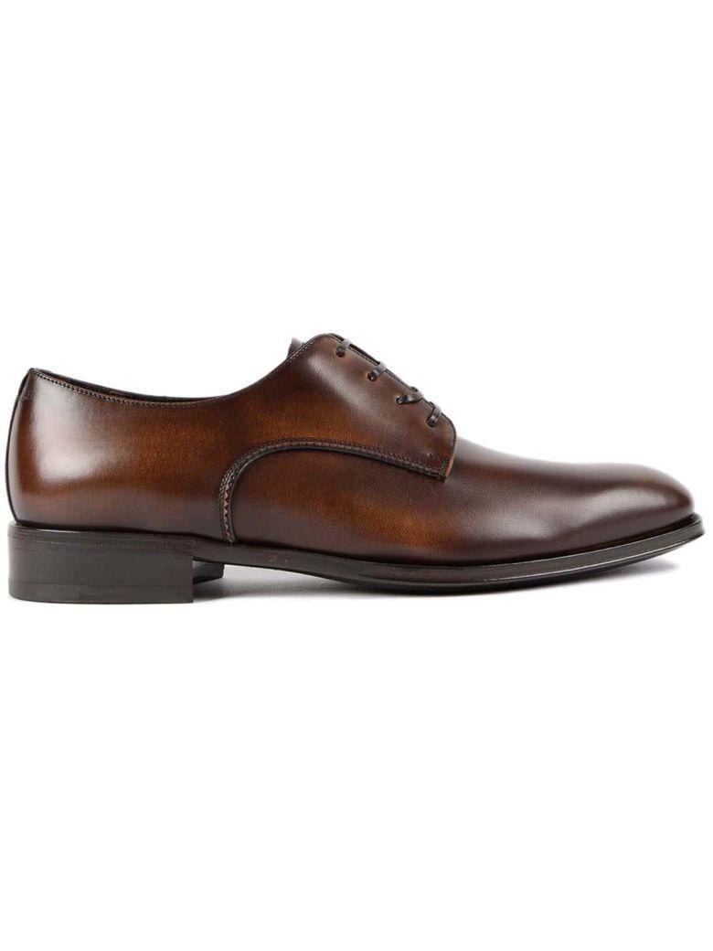 Salvatore Ferragamo Daniel Oxford Shoes In Brown