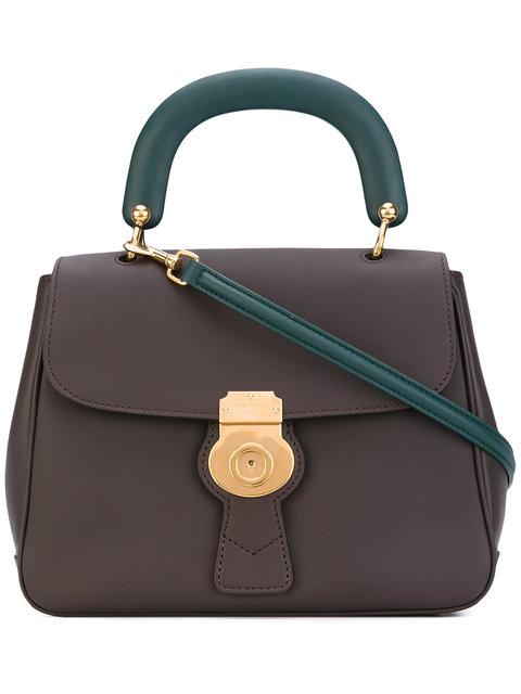 Burberry The Medium Dk88 Top Handle Bag In Brown