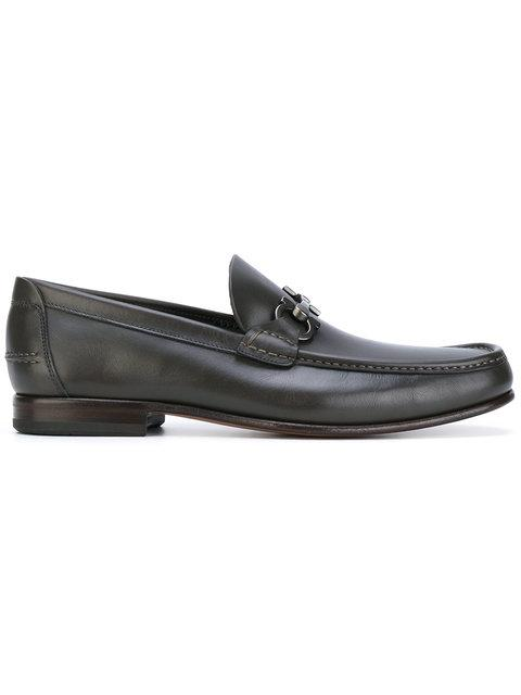 Salvatore Ferragamo 'Fiordi' Loafers - Brown
