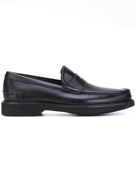 Salvatore Ferragamo 'Dinard' Penny Loafers - Black