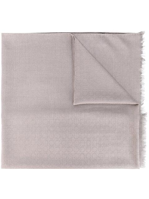 Salvatore Ferragamo Scarf In Neutrals