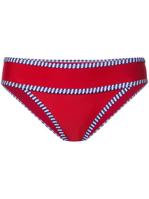 Duskii Iao Valley Bikini Pants - Red