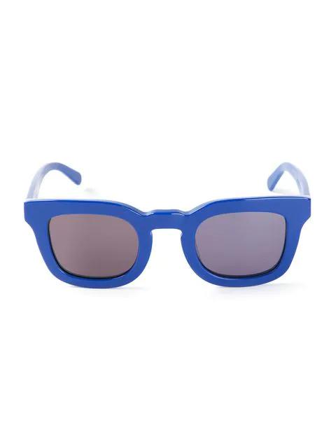 Neil Barrett Chunky Frame Sunglasses