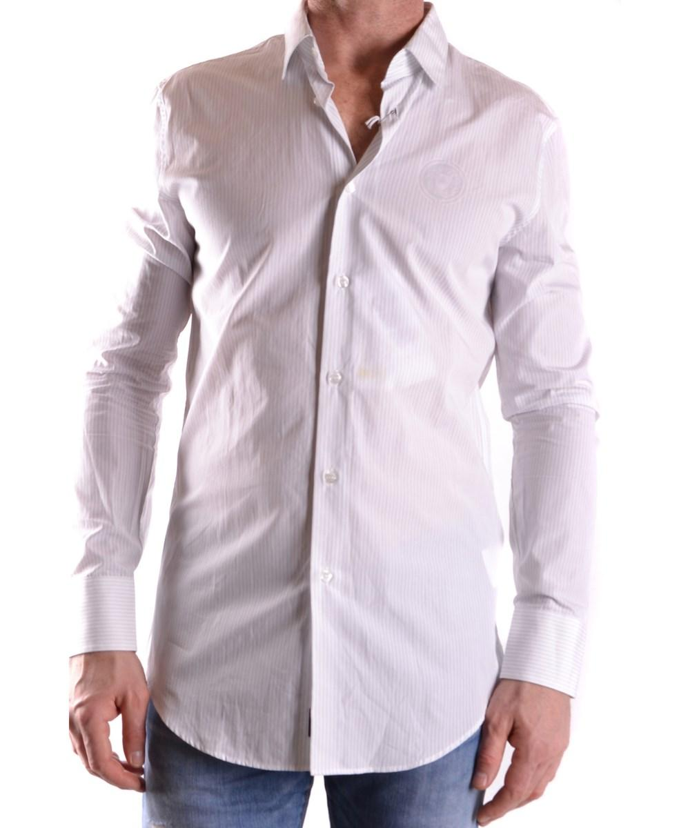 Bikkembergs Men's  Multicolor Cotton Shirt In Multiple Colors