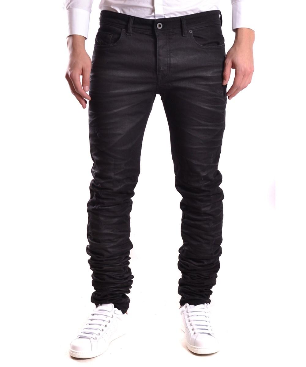 Diesel Black Gold Men's  Black Cotton Jeans