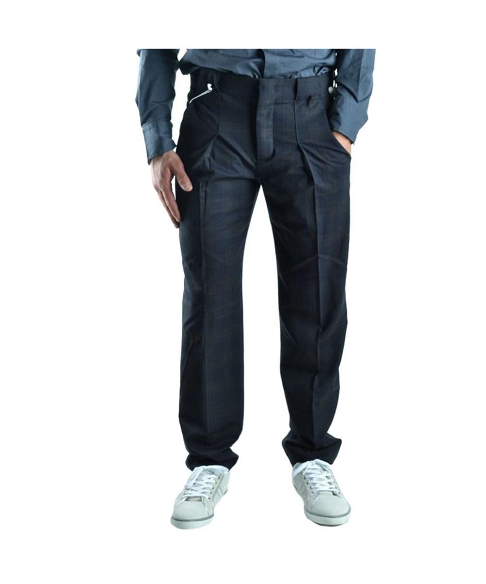 Bikkembergs Men's  Blue Wool Pants