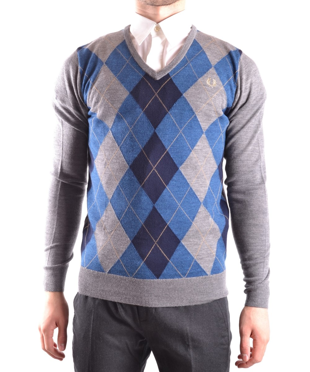 Fred Perry Men's  Multicolor Wool Sweater In Multiple Colors