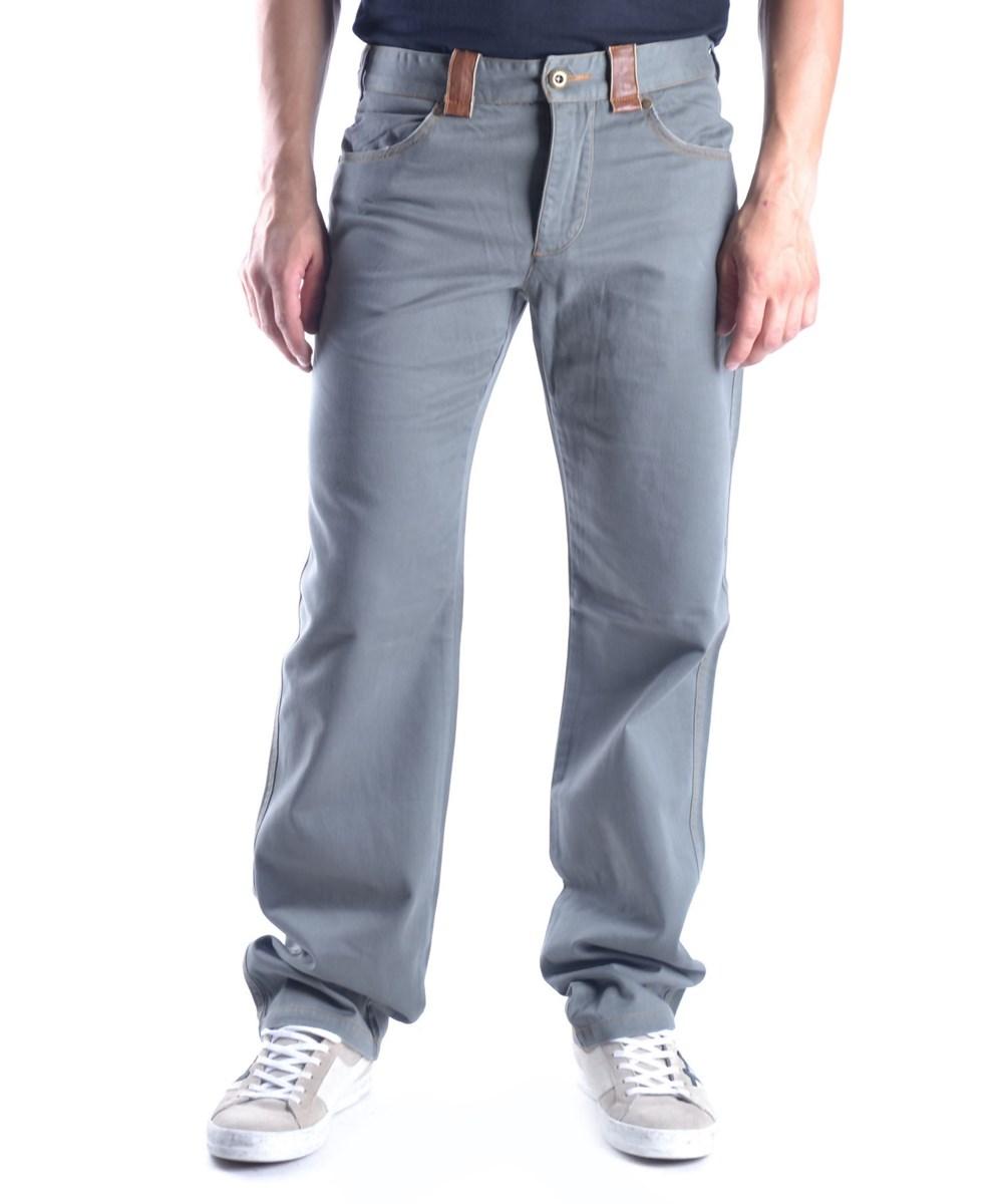 Ermanno Scervino Men's  Green Cotton Pants