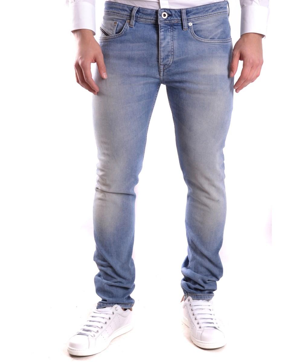 Diesel Black Gold Men's  Blue Cotton Jeans