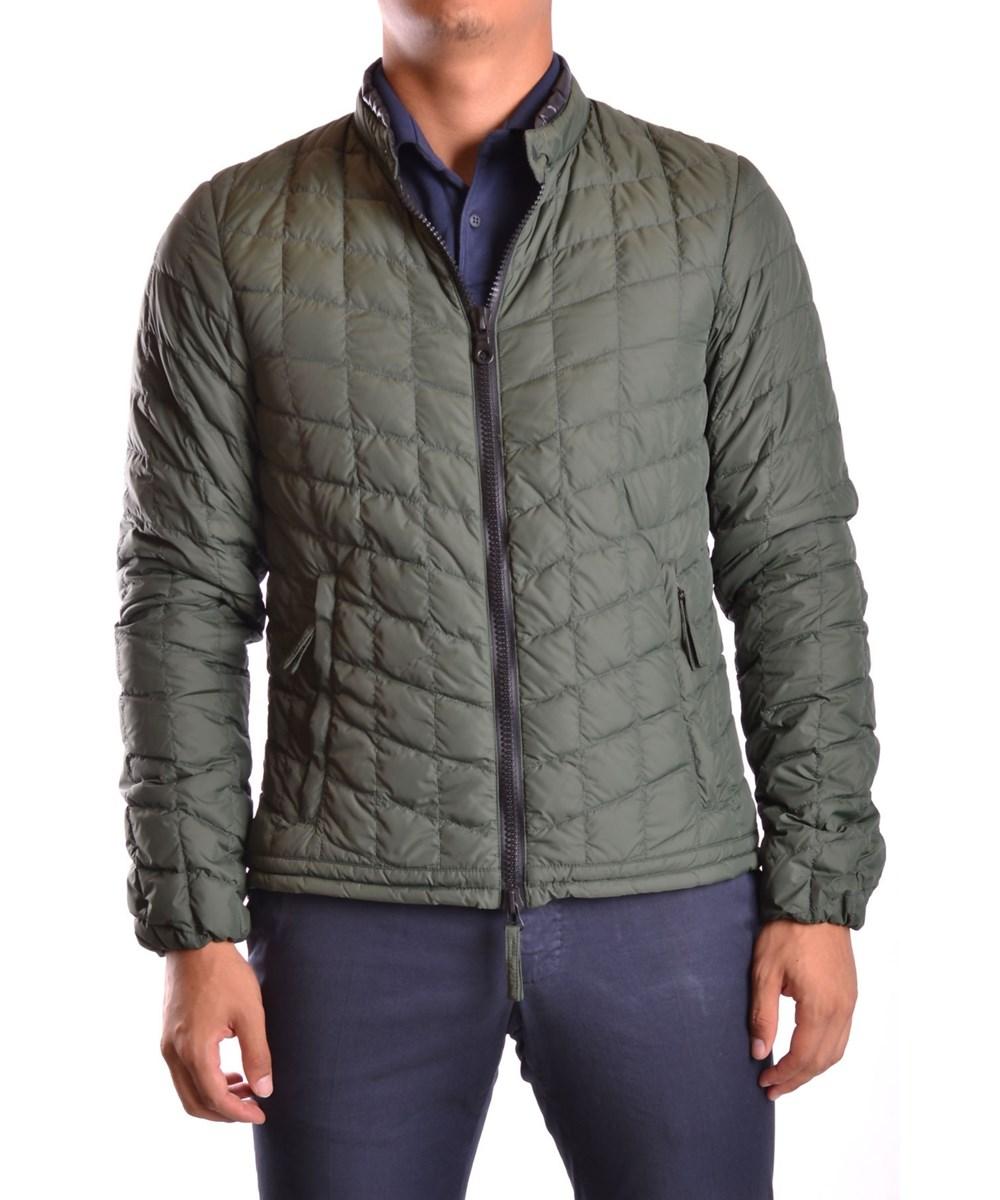 Duvetica Men's  Green Polyamide Outerwear Jacket