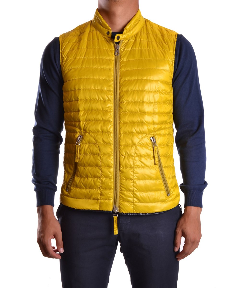 Duvetica Men's  Yellow Polyamide Vest