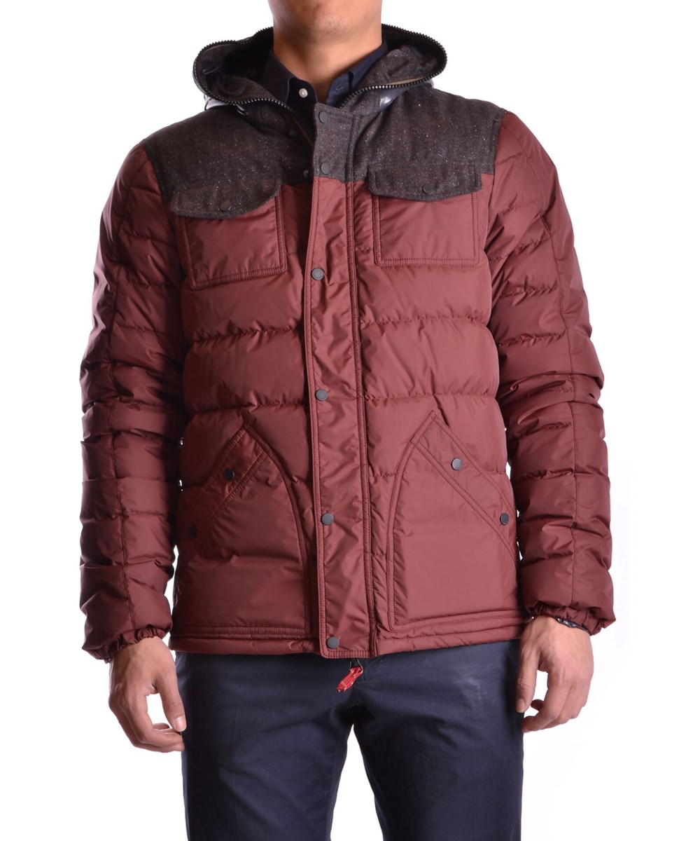 Duvetica Men's  Burgundy Polyamide Down Jacket In Red