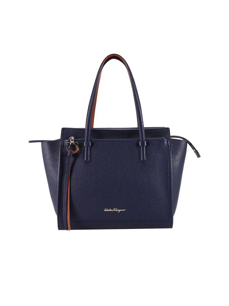 Salvatore Ferragamo Shoulder Bag Shoulder Bag Women  In Blue