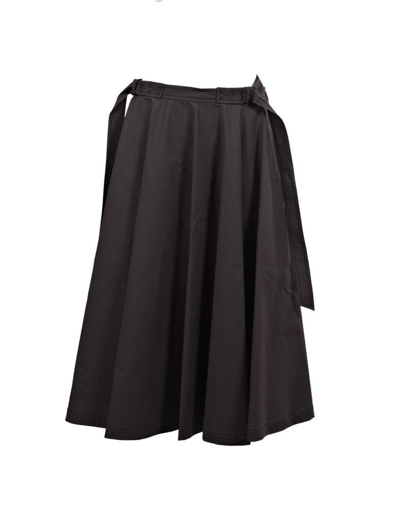 Bottega Veneta Maxi Skirt In Black
