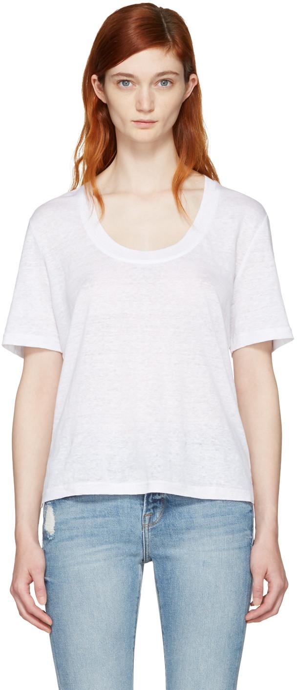 Frame Minimalistic Short Sleeve Shirt In Black