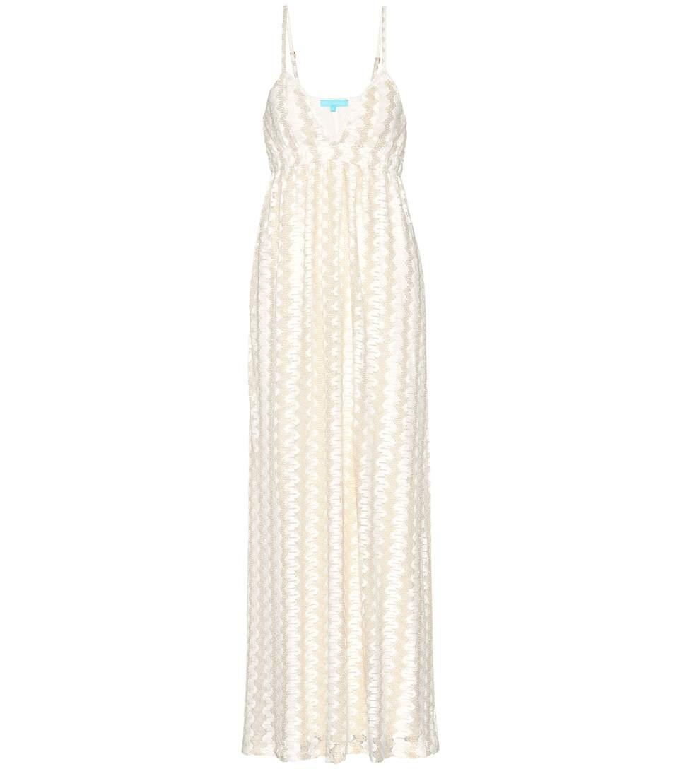 Melissa Odabash Petra Knit Dress In Cream Keit