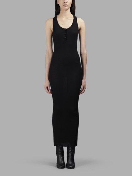 Isabel Benenato Women's Black Long Dress
