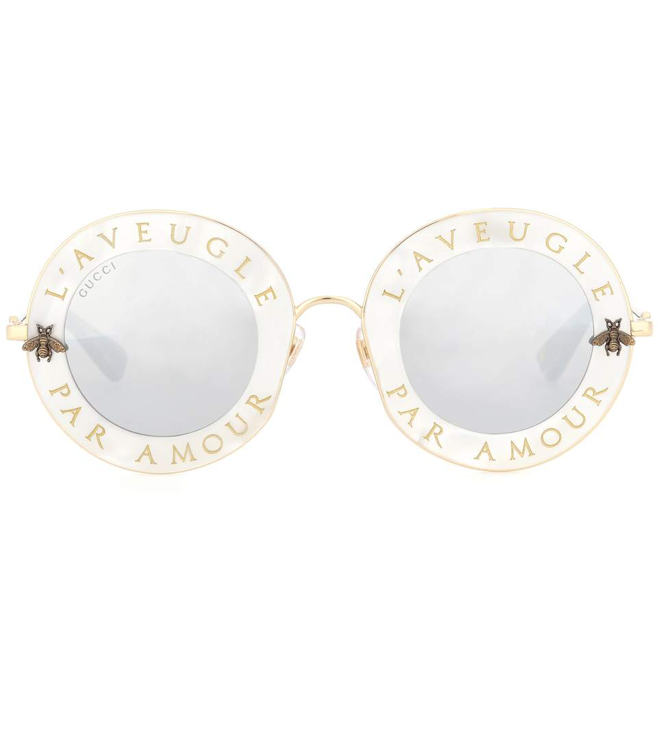 3f9199fcc31 Gucci Round Sunglasses
