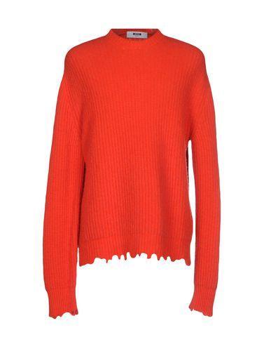 Msgm Sweaters In Rust