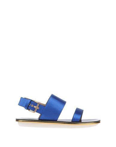 Marni Sandals In Bright Blue