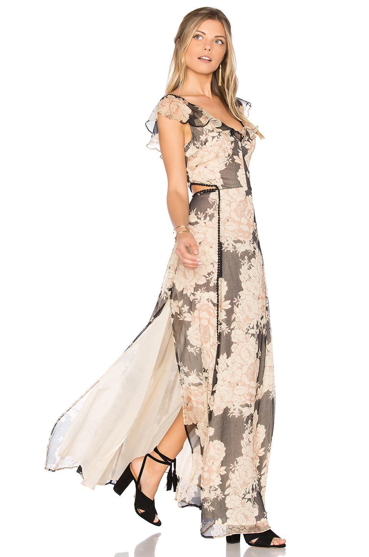 Cleobella Auden Maxi Dress In Blush