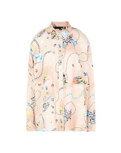 Love Moschino Patterned Shirts & Blouses In Pink
