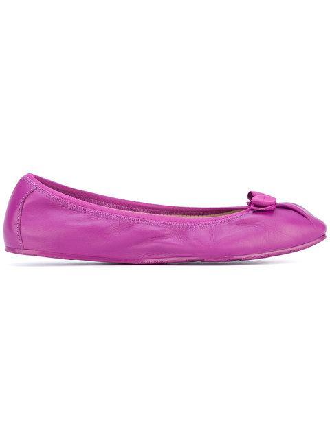 Salvatore Ferragamo My Joy Ballerina Shoes In Pink