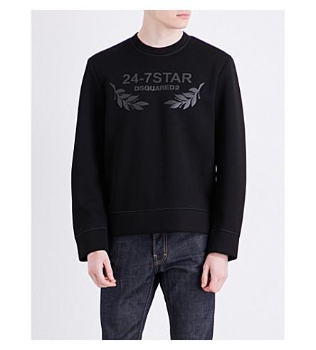 Dsquared2 Dsquared Viscose Sweatshirt In Black