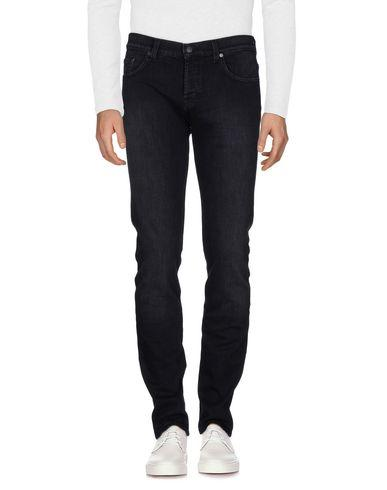 7 For All Mankind Denim Trousers In Black