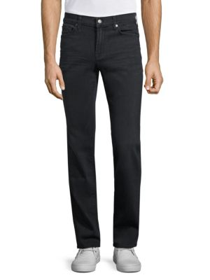 7 For All Mankind Slimmy Luze Performance Slim Straight Jeans In Wshd Slfr