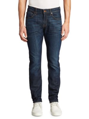 7 For All Mankind Paxtyn Clean-Pocket Slim-Fit Jeans In Commotion