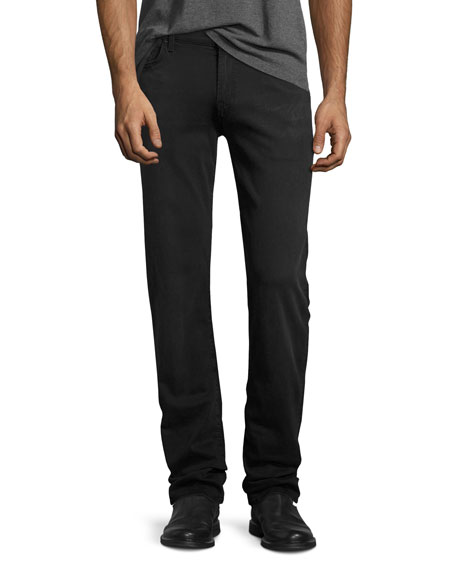 7 For All Mankind Luxe Sport Slim Fit Jeans In Aspen Gray In Medium Gray