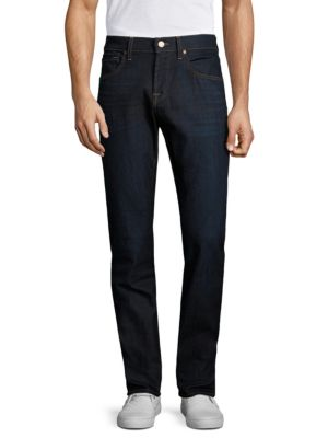 7 For All Mankind Straight Fit Clean Pocket Jeans In Revelry