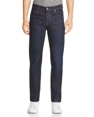 7 For All Mankind Adrien Airweft Slim Fit Jeans In Concierge In Revelry Blue