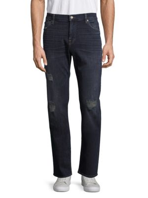 7 For All Mankind Standard Straight-Leg Jeans In Ainsworth