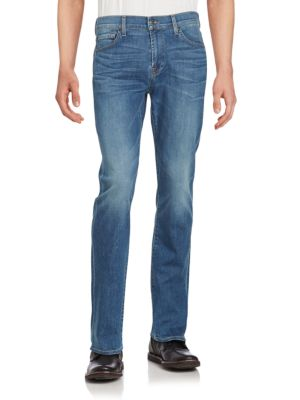 7 For All Mankind Standard Straight-Leg Jeans In Parkhill