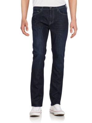 7 For All Mankind Slimmy Straight-Leg Jeans In Paramount