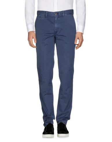 7 For All Mankind Casual Pants In Slate Blue