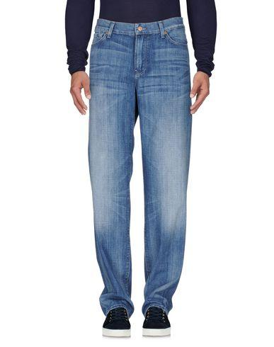 7 For All Mankind Denim Pants In Blue