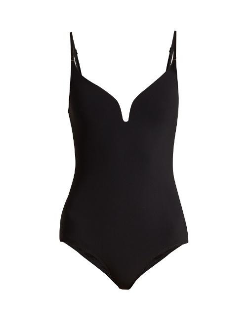 Zimmermann Separates Plunge Swimsuit In Black