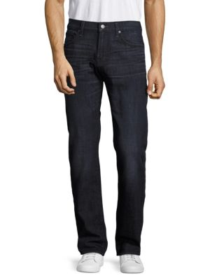 7 For All Mankind The Standard Straight Leg Jeans In Bloomfield