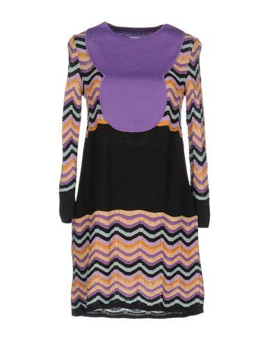 M Missoni Knit Dress In Purple