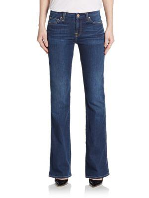 7 For All Mankind Karah Bootcut Jeans In Blue